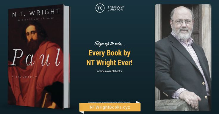 Every Book by N.T. Wright Ever! (Giveaway)