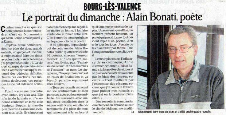 Alain_Bonati_Le_Dauphiné_Libéré_Edilivre
