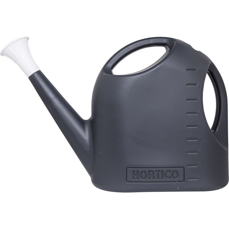 Hortico 9L Charcoal Plastic Watering Can. Bunning $12