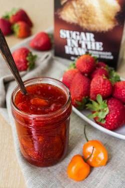 Strawberry-Habanero Preserves