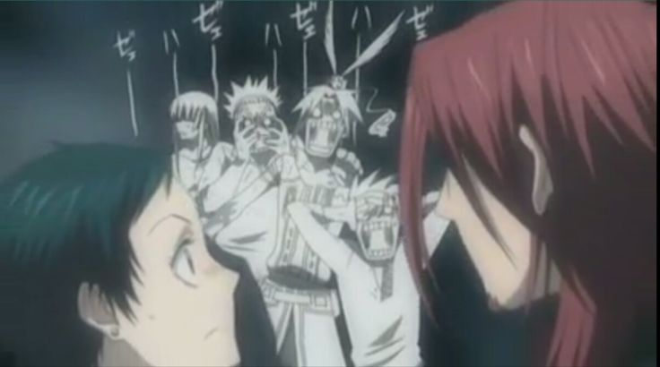 D gray man - epic moment