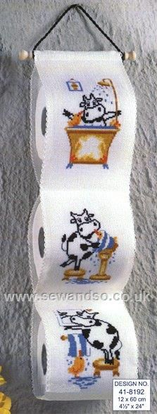 Shop online for Friesian Cow Toilet Roll Tidy Cross Stitch Kit at sewandso.co.uk. Browse our great range of cross stitch and needlecraft products, in stock, with great prices and fast delivery.