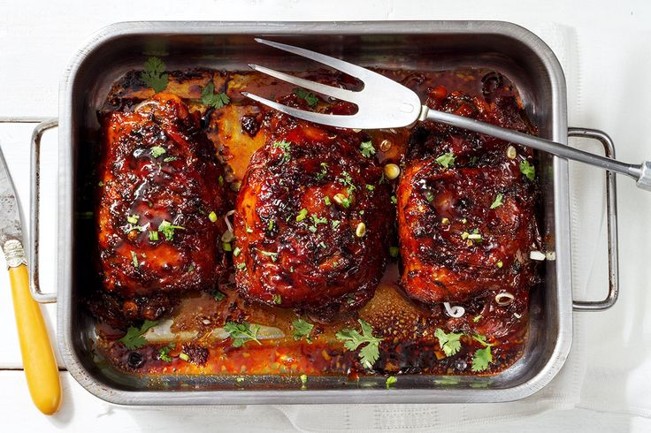 how to cook turkey thighs in the oven