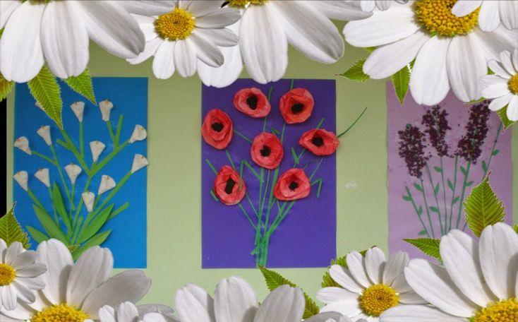 παιχνιδοκαμώματα στου νηπ/γειου τα δρώμενα: τα λουλούδια της Πασχαλιάς !!!