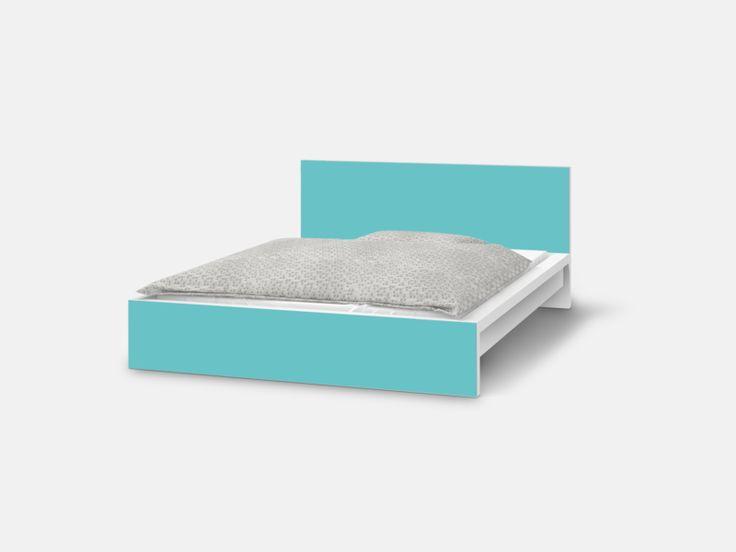 Ikea malm bett eiche  Die besten 25+ Malm bett Ideen auf Pinterest | IKEA Malm Bett ...