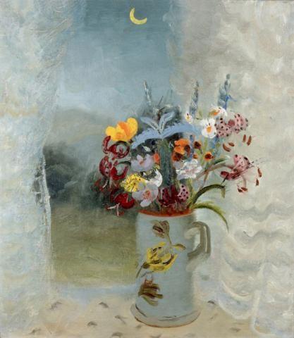 Flowers by Moonlight   Winifred Nicholson