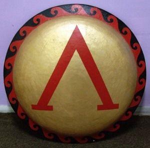 Classic greek armiesgreek shield (Spartan)