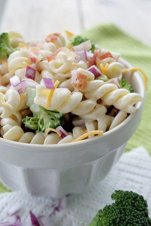Summer Pasta Broccoli Salad 1 box Dreamfields Rotini 1 cup ...