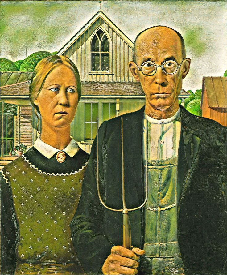 best 25 grant wood american gothic ideas on pinterest american gothic american gothic. Black Bedroom Furniture Sets. Home Design Ideas
