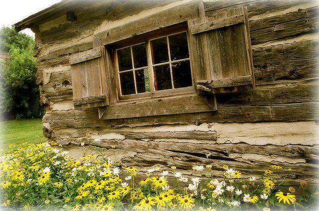 Waterloo's first school house dated 1820 by Spirit Raindancer | Flickr - Photo Sharing!