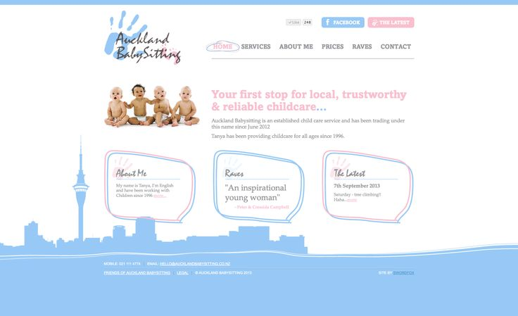 Your first stop for local, trustworthy & reliable childcare. http://www.aucklandbabysitting.co.nz/