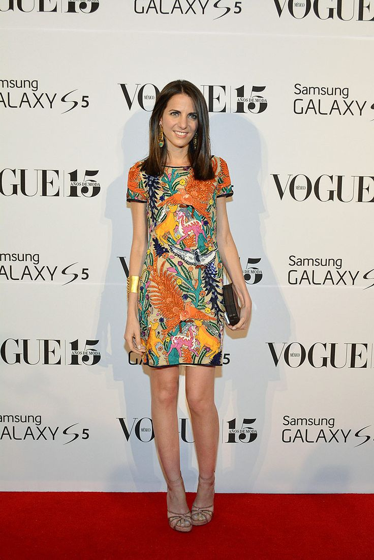 red carpet whos on next mexico 2014 Kelly Talamas, Directora Editorial de Vogue México y Latinoamérica