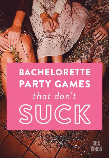Bachelorette Party Games That Don't Suck