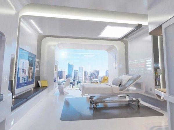 NXT Healthが考案した未来の病室