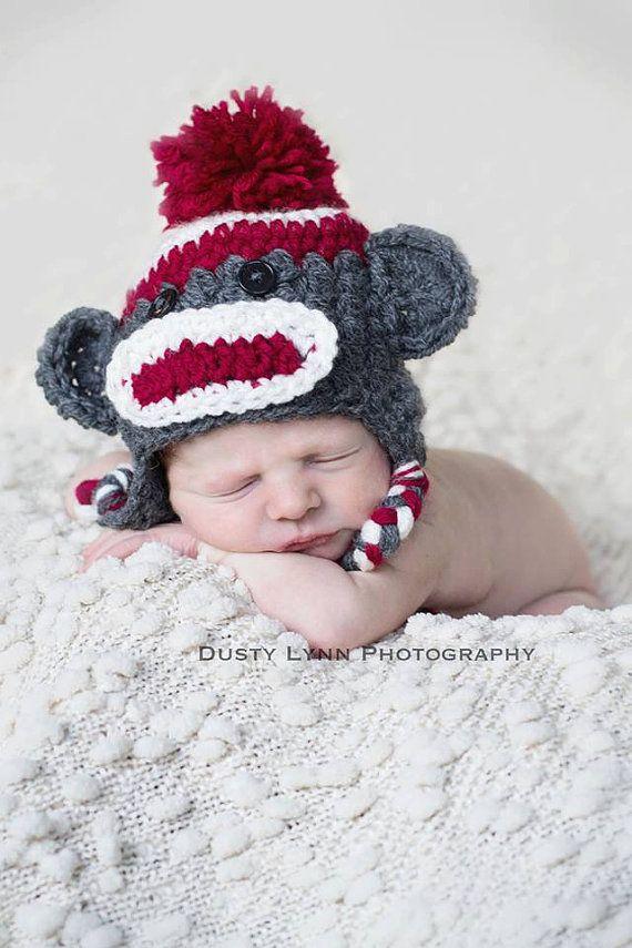 Crochet chapeau de bébé  bébé  nourrissons par CrochetMyLove, $18.00