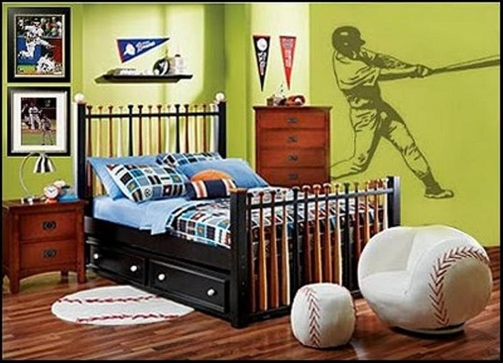 Boys Baseball Bedroom Ideas Themed Rooms 52
