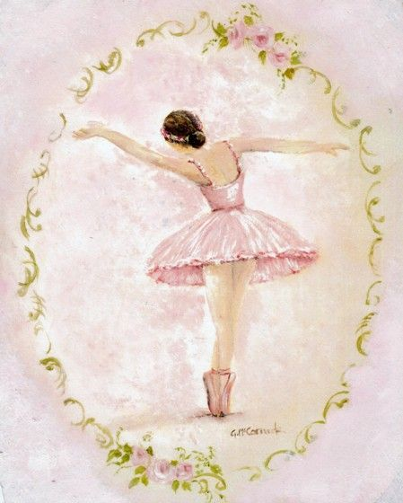 Ready to Frame Print  - Ballerina - Postage is included Worldwide
