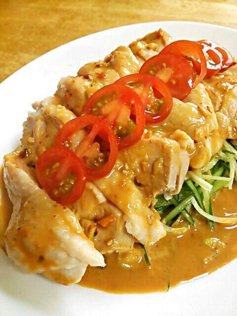 簡単で美味しい本格中華 棒棒鶏(バンバンジー)