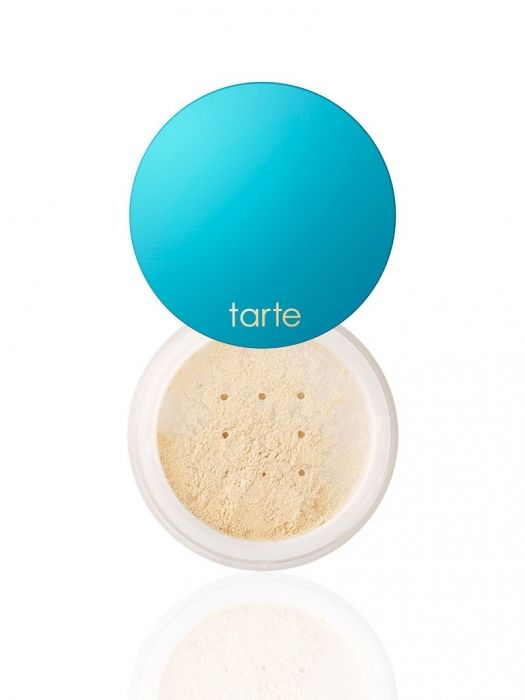 Tarte Filtered Light Setting Powder (0.35oz) $34 :: Weightless, talc-free makeup setting & baking powder with tiny, light-reflecting particles that blur out pores & lines. This silky, vegan powder sets & protects without flaking, creasing or caking. The loose, vanilla-tinted formula blends invisibly to absorb shine & set your makeup to a matte finish. It also has magic micronized filtered particles that diffuse light to give you healthy, more luminous dimension.