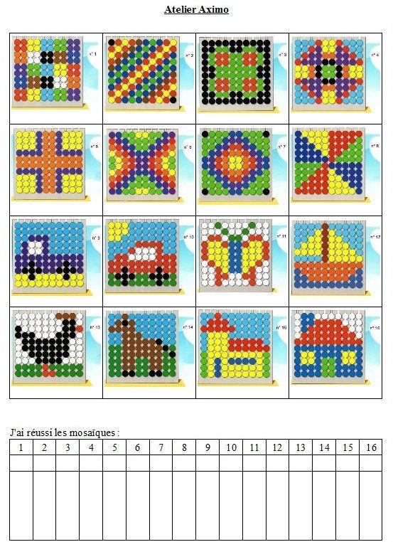 voorbeelden kralenplank 1