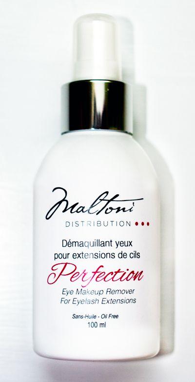Perfection Makeup Remover for Eyelash Extension / Démaquillant Perfection pour extensions de cils C$24.95www.maltonidistribution.com/ #eyelashes #eye #lashes #makeup #maltoni #maltoniproduct #maltonidistribution