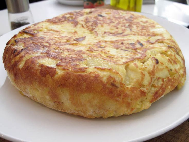 #Spanish #Tortilla. This is a traditional dish my Spanish grandmother would make occasionally while I was growing up. Super great hot or cold, and really good for breakfast.