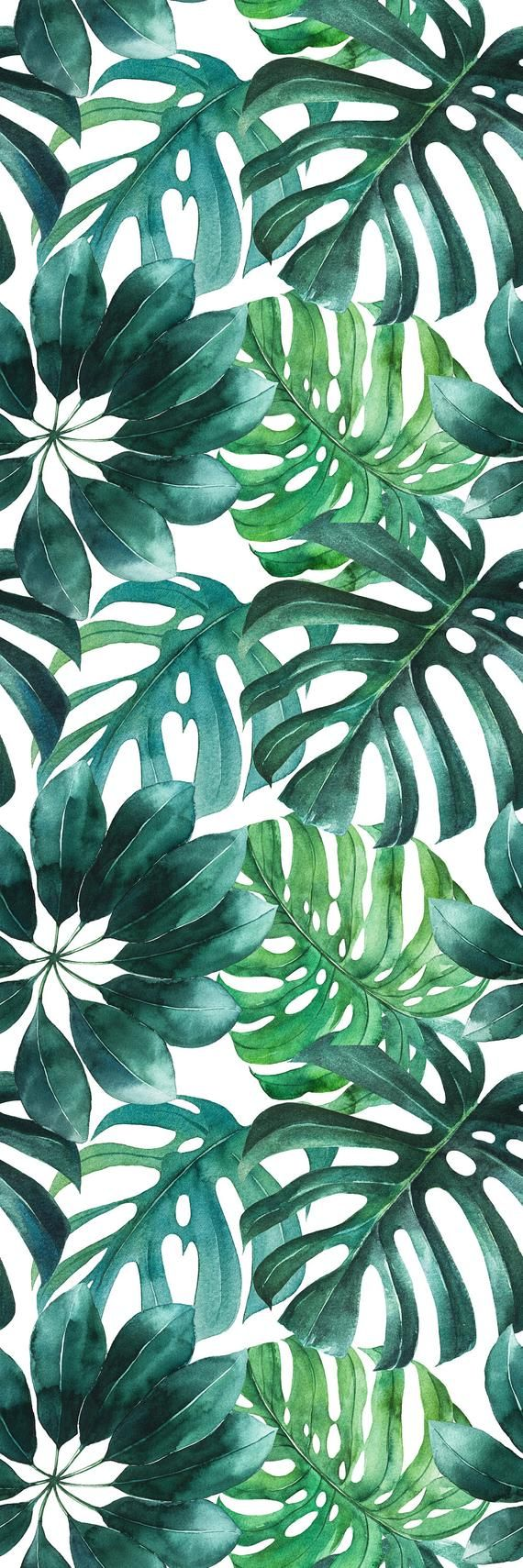 Removable Wallpaper With Banana Leaf Print Banana Leaves Peel And Stick Wallpaper Tropical Leaf Removable Wallpaper For Nursery Wallpaper Living Room Discount Bedroom Furniture Wallpaper Bedroom