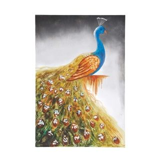 Shop for The Peacock Canvas Art. Get free delivery at Overstock.com - Your Online Art Gallery Store! Get 5% in rewards with Club O!