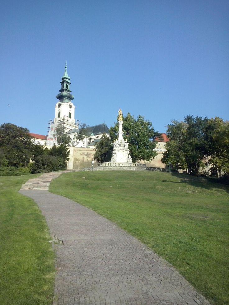 K peknému hradu sa hodí slnečné a teplé počasie Nitry
