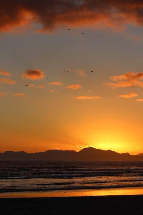Sunset on Strand Beach