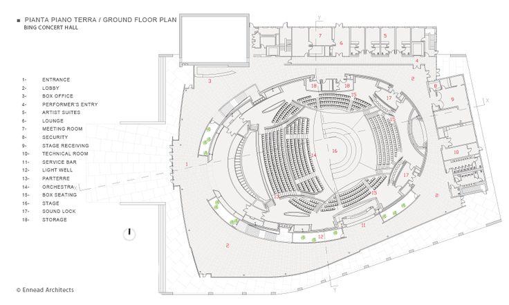 Gehrys Disney Concert Hall Floor Plans Google Search