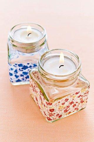 Jam Jar Candle Holders (BridesMagazine.co.uk) (BridesMagazine.co.uk)