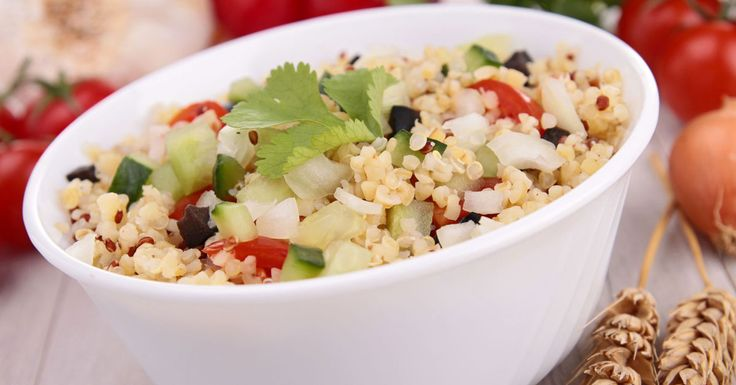 Quinoa (pronounced keen-wah; Spanish: quinua, from Quechua: kinwa), is a grain crop grown primarily for its edible seeds. It is not a true cereal like barley, as it is not