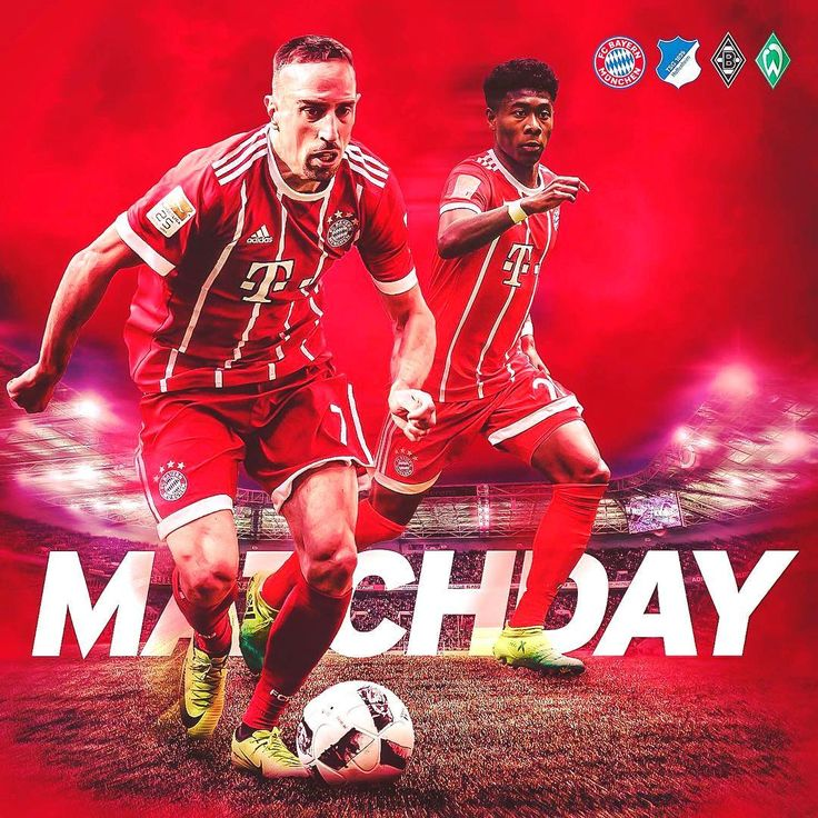 Matchday! 💪🏻 Today #FCBayern faces off against #Bundesliga rivals Hoffenheim, Gladbach & Bremen in the #TelekomCup. ⚽️ #packmas #MiaSanMia