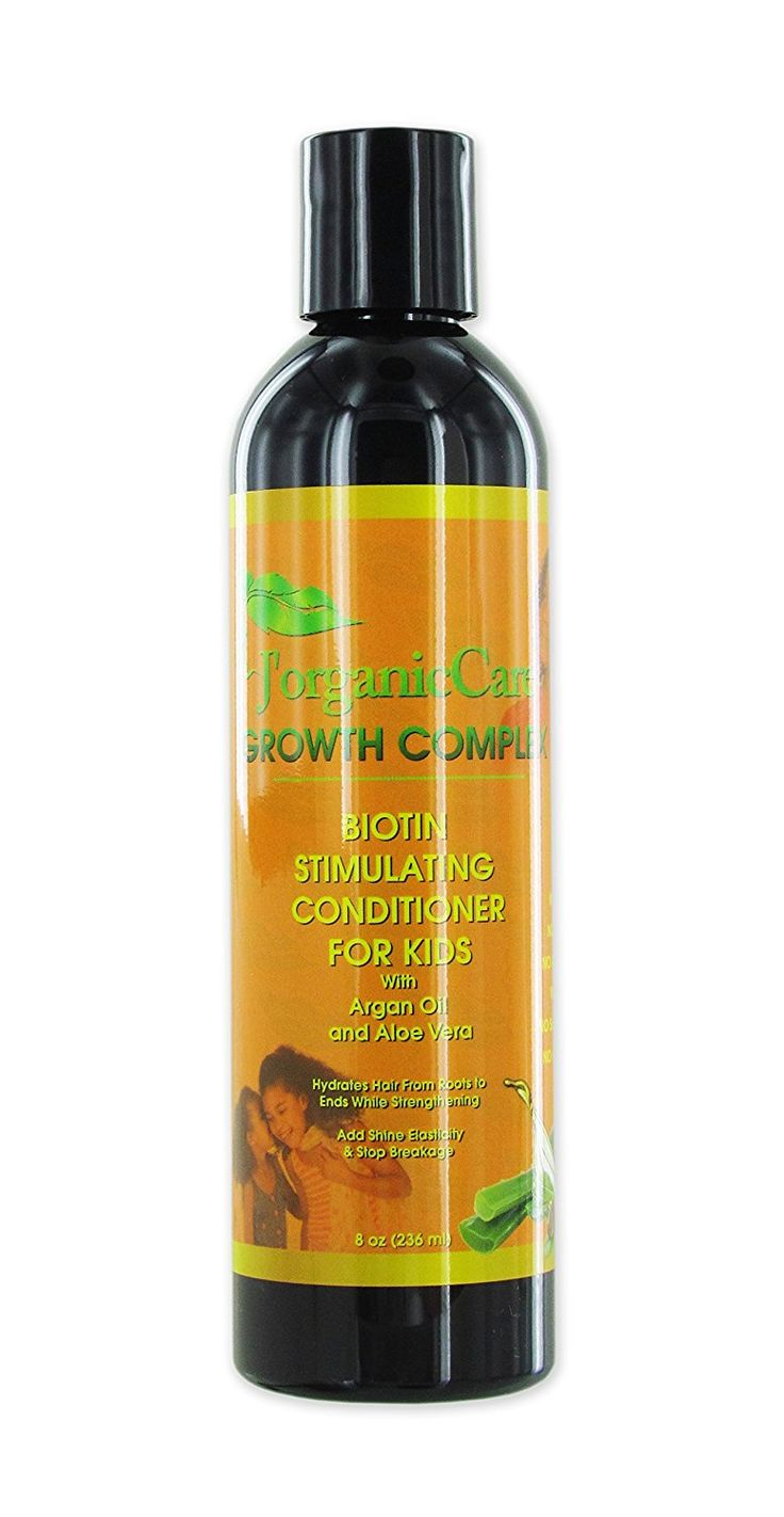 100% Pure Organic Biotin Stimulating Conditioner (for kids) with Argan Oil, Aloa Vera and more -- This is an Amazon Affiliate link. Want to know more, click on the image.