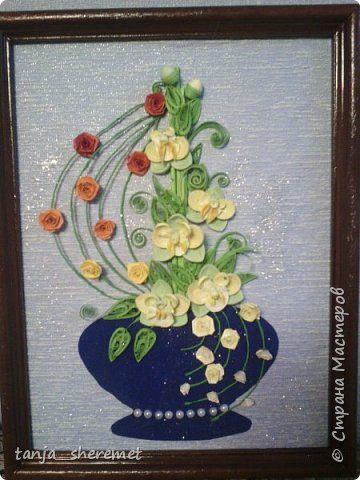 Добрый день всем рукодельницам! Давно не писала, как то времени не хватало. А это посмотрела работы Ольги Ольшак и так захотелось что то сотворить!!!! Вот и сотворила. Это мои первые орхидеи. Идея Ольги , цветы мои. Конечно до совершенства с орхидеями мне еще долго, но все ровно, скажите своё мнение, буду очень рада! Спасибо. фото 1