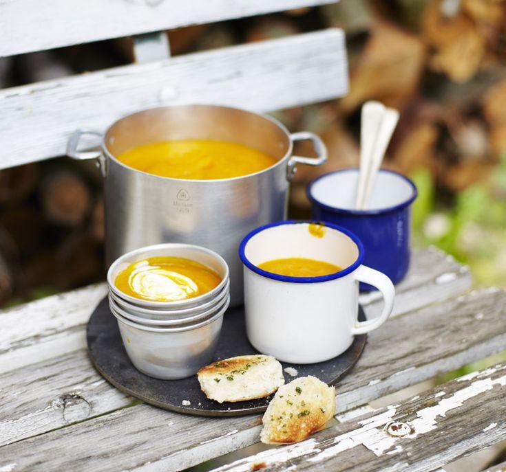 Dýňová polévka z Deníku Dity P.