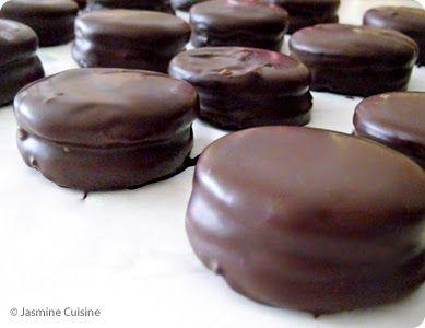 Jasmine Cuisine: Alfajores au chocolat