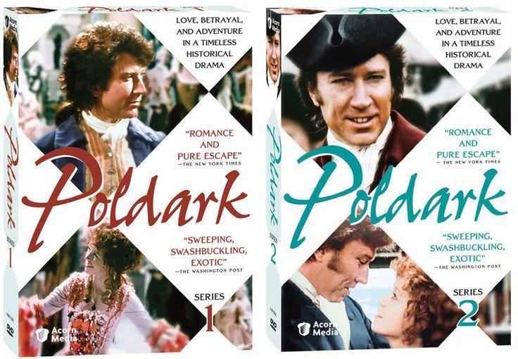 Poldark DVD Series 1 & 2 Acorn Media PBS Masterpiece Theatre 2010