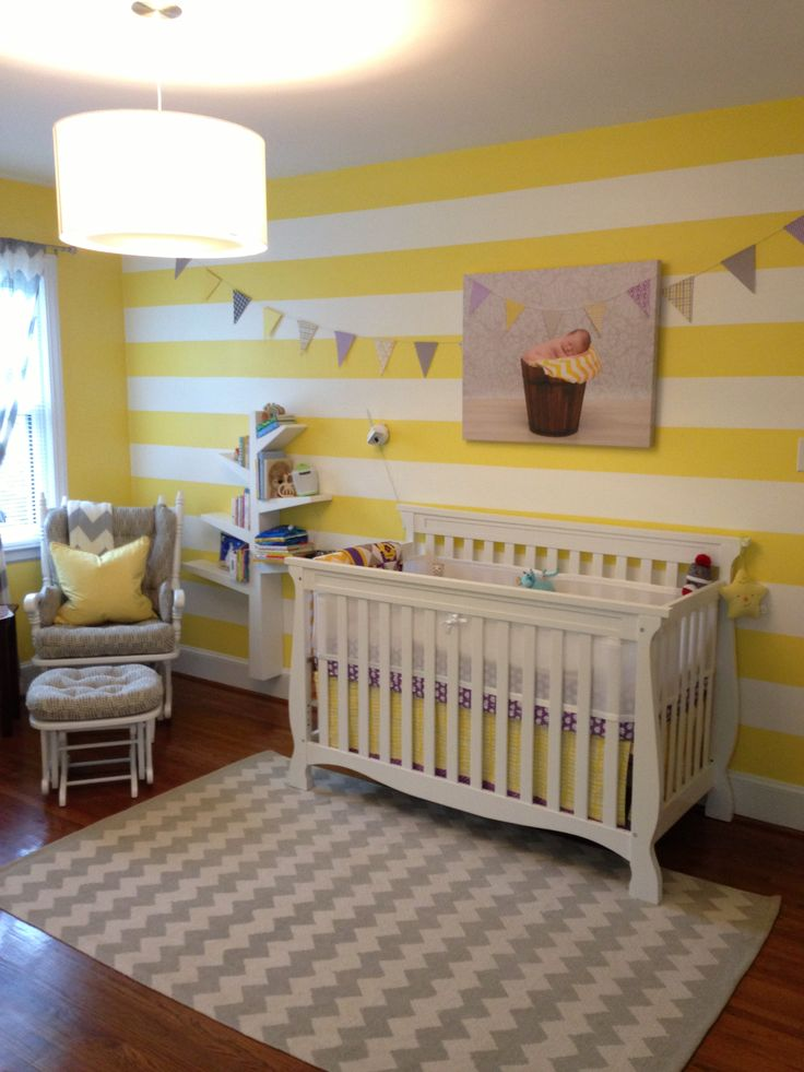 13 best images about baby room on pinterest purple set of and giraffe nursery - Simple baby room ...