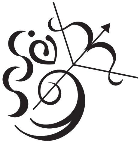 Final Sagittarius tattoo design