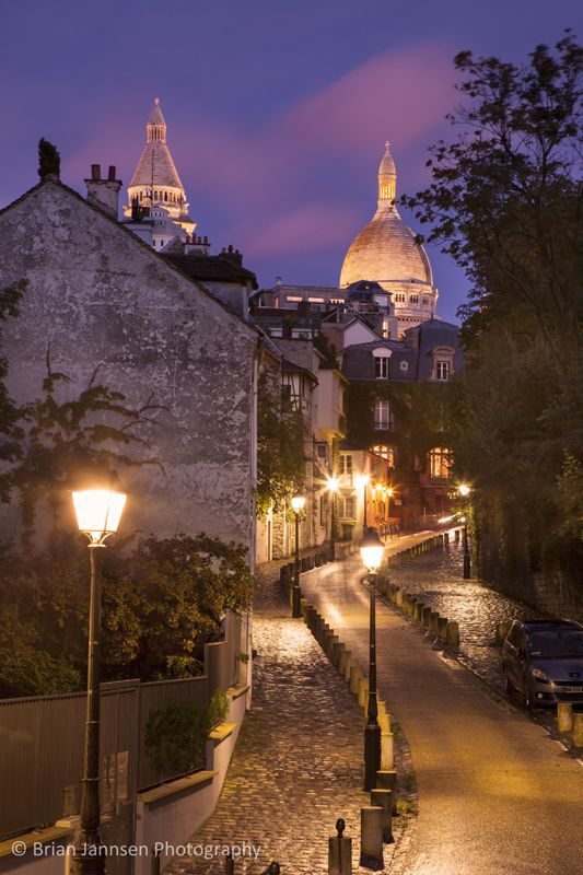 Montmartre, Paris France © Brian Jannsen Photography