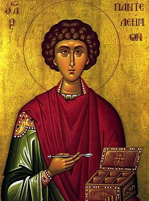 Feast of the Great Martyr and Healer Saint Panteleimon — Greek Orthodox…