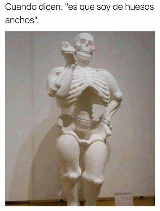 Caretrasero - De huesos anchos