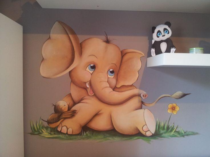 mural infantil, acrílico