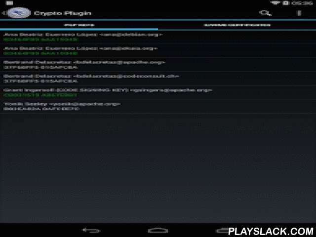 FlipdogSolutions Crypto Plugin  Android App - playslack.com , The Flipdog Encryption Plugin was built to add onto existing Flipdog Solutions applications to give them enhanced security. The current version supports the existing email application MailDroid and gives it support for S/MIME and openPGP. With openPGP, it supports Inline PGP and PGP/MIME under openPGP.NOTE: This is a plugin library for existing Flipdog applications and will be of no use without the main application…