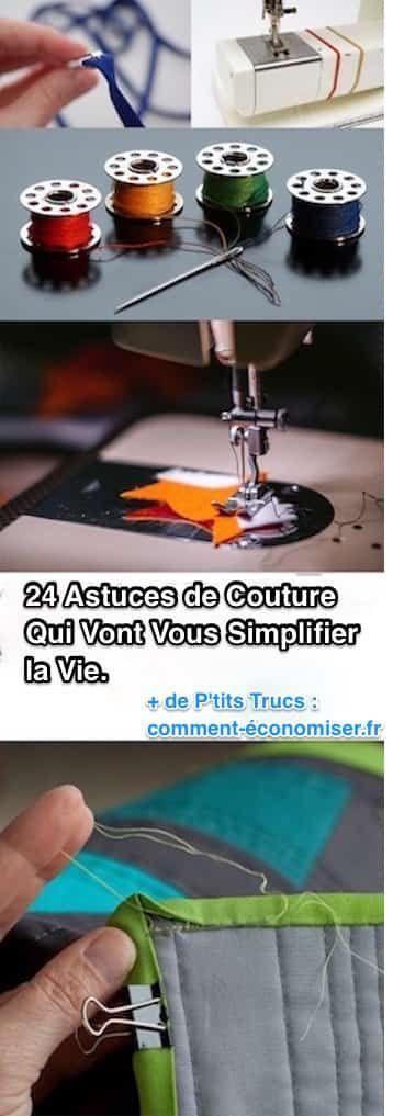 24 Astuces de Coutures Qui Vont Vous Simplifier la Vie. Ne Ratez Pas la 21ème !