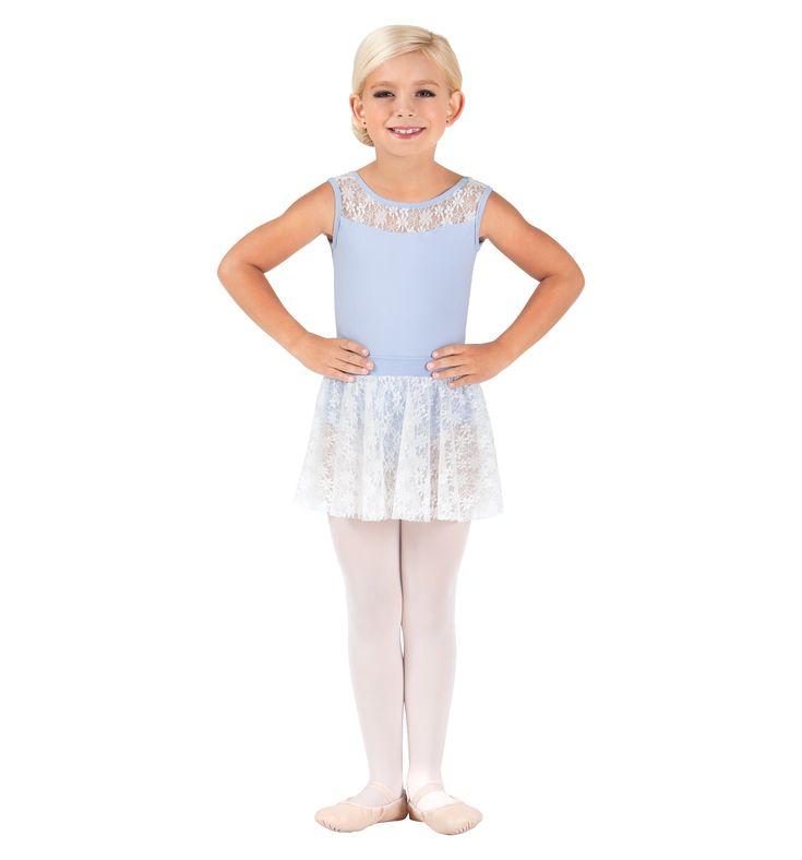 バルトグス フローラルレースプルオンスカート(子供)BT5105C  #子供レオタード #レオタード #バレエ #子供バレエスカート #バルトグス #Bal Togs #ballet #leotard #kidleotard #balletskirt