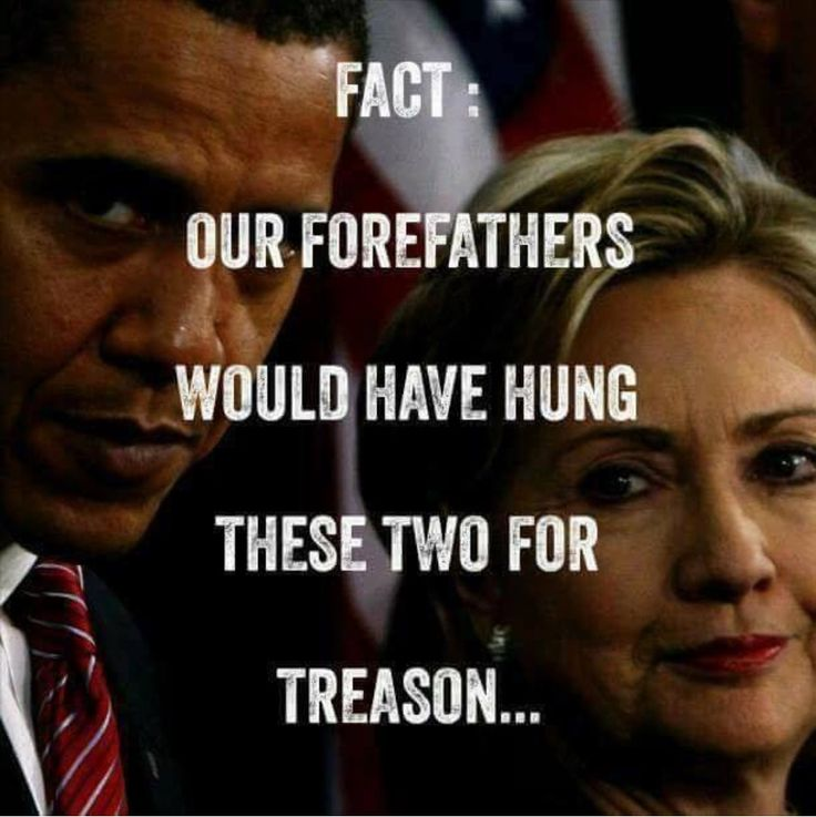 ∞  Congress is afraid of being tried for their treason too which is why these two won't be hung!