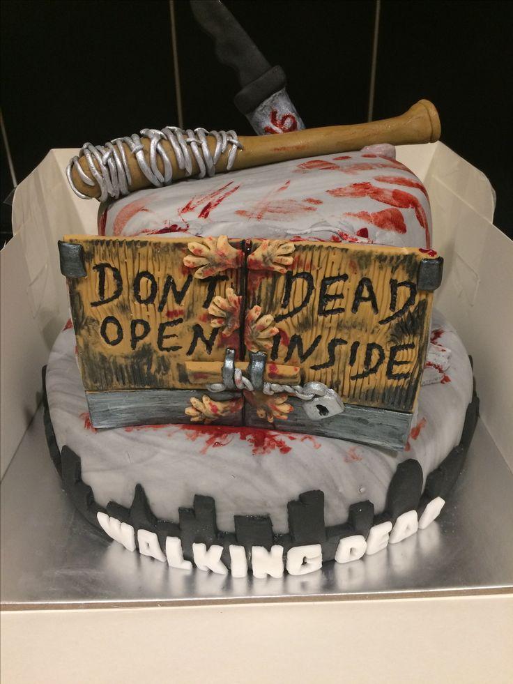 The 25 best Walking dead cake ideas on Pinterest Walking dead